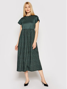 Weekend Max Mara Weekend Max Mara Rochie de zi Palchi 56210311 Verde Regular Fit
