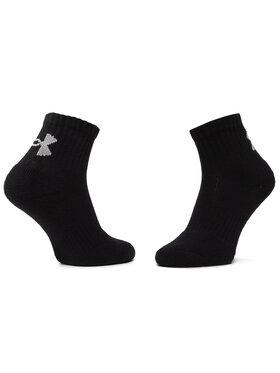 Under Armour Under Armour Sada 6 párů dámských nízkých ponožek Charged Cotton 2.0 1312475-001 Černá