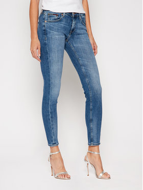 Tommy Jeans Tommy Jeans Skinny Fit džínsy Scarlett DW0DW09035 Tmavomodrá Skinny Fit