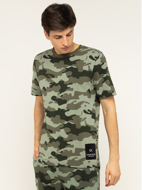 Calvin Klein Performance Calvin Klein Performance T-Shirt 00GMH9K289 Zielony Regular Fit