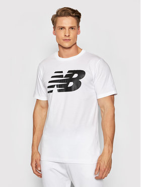 New Balance New Balance Marškinėliai Classics Tee MT03919 Balta Athletic Fit