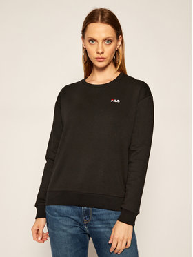 Fila Fila Sweatshirt Effie Crew Sweat 687467 Noir Regular Fit