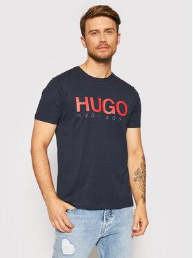Hugo Hugo T-shirt Dolive-U3 50406203 Bleu marine Regular Fit