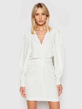 IRO IRO Koktejlové šaty Jaden A0137 Biela Regular Fit