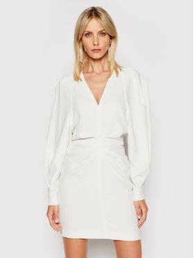 IRO IRO Koktejlové šaty Jaden A0137 Bílá Regular Fit
