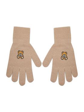 MOSCHINO MOSCHINO Жіночі рукавички 65162 0M2097 Бежевий