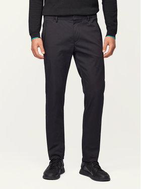 Boss Boss Pantalon en tissu Rogan4-1 50424903 Noir Slim Fit