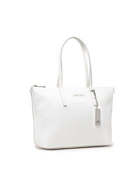Calvin Klein Calvin Klein Geantă Shopper Md K60K608283 Alb