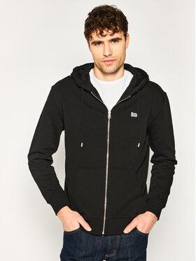 Lee Lee Sweatshirt Basic Zip Throuh Hoo L80KSP01 Schwarz Regular Fit
