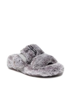 Skechers Skechers Ciabatte Cozy Wedge 167238/GRY Grigio
