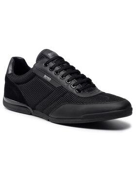 Boss Boss Sneakersy Saturn Lowp 50455313 10236286 01 Czarny