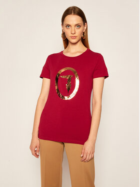 Trussardi Trussardi T-shirt 56T00280 Bordeaux Regular Fit