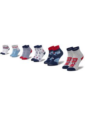 Mayoral Mayoral Súprava 6 párov vysokých detských ponožiek 9244 Tmavomodrá