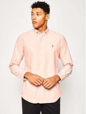 Polo Ralph Lauren Polo Ralph Lauren Košile Classics 710784298 Oranžová Custom Fit