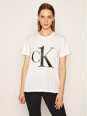 Calvin Klein Underwear Calvin Klein Underwear Marškinėliai 000QS6436E Balta Regular Fit