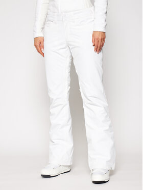 Roxy Roxy Slidinėjimo kelnės Backyard ERJTP03127 Balta Regular Fit