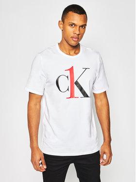Calvin Klein Underwear Calvin Klein Underwear Tricou Lounge 000NM1903E Alb Regular Fit