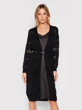 Fracomina Fracomina Ensemble pull et robe F321WT8004K45801 Noir Regular Fit