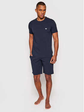 Emporio Armani Underwear Emporio Armani Underwear Pižama 111573 1P720 27435 Tamsiai mėlyna