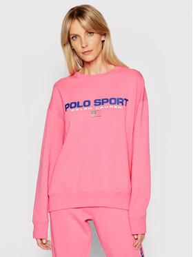 Polo Ralph Lauren Polo Ralph Lauren Bluza Lsl 211838080004 Różowy Regular Fit