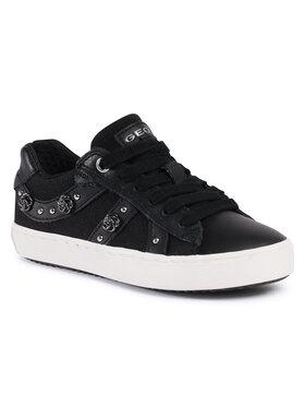 Geox Geox Sneakersy J Kilwi G. A J02D5A 01085 C9999 S1 Czarny