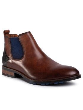 Lloyd Lloyd Členková obuv s elastickým prvkom Jaser 20-562-32 Hnedá