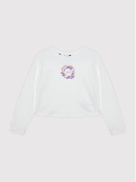 Puma Puma Sweatshirt Alpha Crew 586173 Blanc Regular Fit