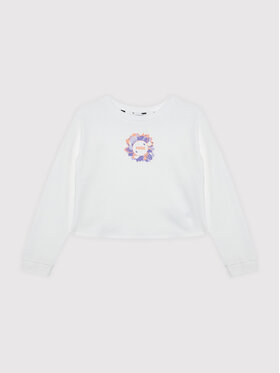 Puma Puma Sweatshirt Alpha Crew 586173 Weiß Regular Fit