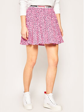 Tommy Jeans Tommy Jeans Minirock Printed DW0DW08344 Rosa Regular Fit