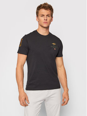 Aeronautica Militare Aeronautica Militare T-shirt 212TS1902J511 Nero Regular Fit
