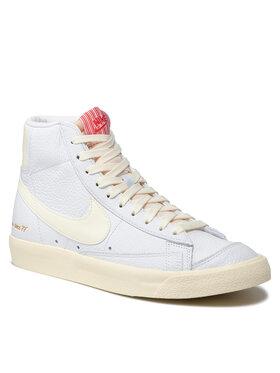 Nike Nike Обувки Blazer Mid '77 Vntg Emb CW6421 100 Бял