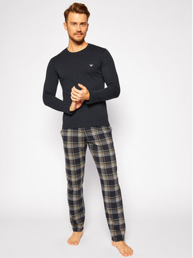 Emporio Armani Underwear Emporio Armani Underwear Pyžamo 111791 0A567 57735 Tmavomodrá