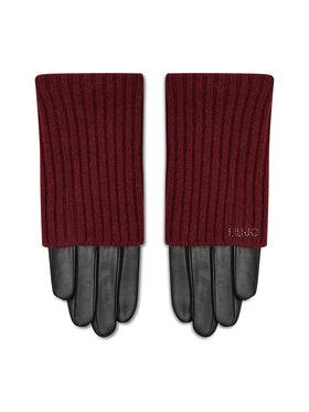 Liu Jo Liu Jo Dámske rukavice Guanto Con Manicott 3F1049 P0300 Čierna