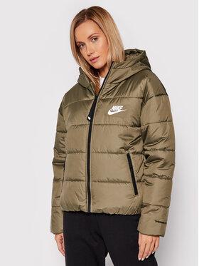 Nike Nike Пухено яке Sportswear Therma Repel DJ6995 Зелен Loose Fit