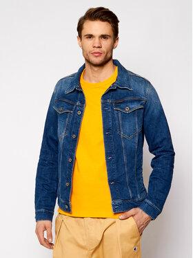 G-Star Raw G-Star Raw Farmer kabát 3301 D11150-C052-A951 Sötétkék Slim Fit