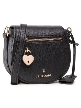 Trussardi Trussardi Дамска чанта Shoulder Sm Grana 75B01082 Черен
