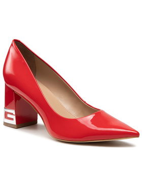 Guess Guess Chaussures basses Zader2 FL5ZD2 PAF08 Rouge