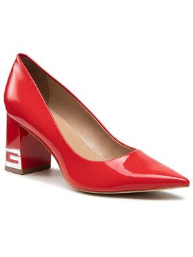 Guess Guess Κλειστά παπούτσια Zader2 FL5ZD2 PAF08 Κόκκινο