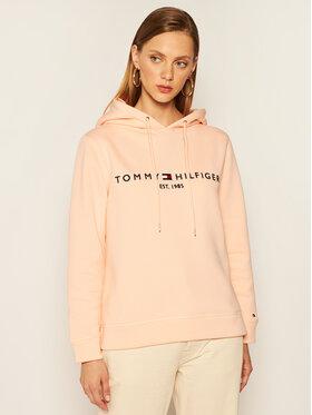 TOMMY HILFIGER TOMMY HILFIGER Sweatshirt Th Ess Hoodie WW0WW26410 Rose Regular Fit