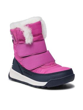 Sorel Sorel Śniegowce Childrens Whitney II Strap Wp NC3875 Różowy