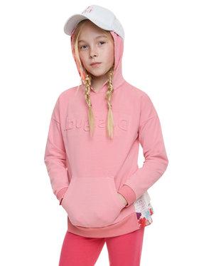 Desigual Desigual Sweatshirt Sweet California 20SGSK07 Rose Regular Fit