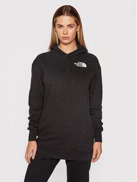 The North Face The North Face Суитшърт NF0A55GKJK31 Черен Oversize