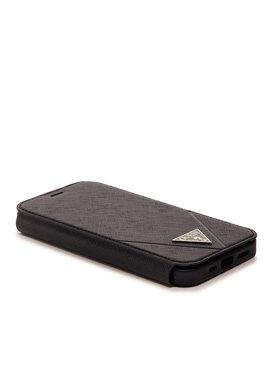 Guess Guess Étui téléphone portable GUFLBK P12MV Noir
