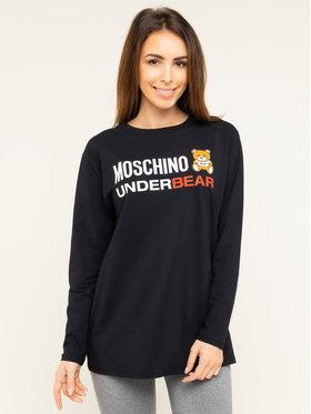 MOSCHINO Underwear & Swim MOSCHINO Underwear & Swim Bluse A1801 9003 Schwarz Regular Fit