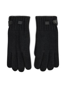 Strellson Strellson Pánske rukavice Gloves 3183 Čierna