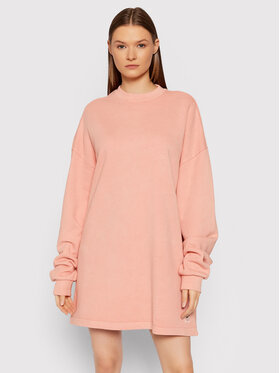 Reebok Reebok Sukienka dzianinowa Natural Dye Crew GR0399 Różowy Oversize