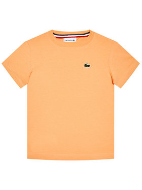 Lacoste Lacoste T-Shirt TJ1442 Orange Regular Fit