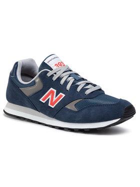 New Balance New Balance Sneakersy ML393SS1 Tmavomodrá