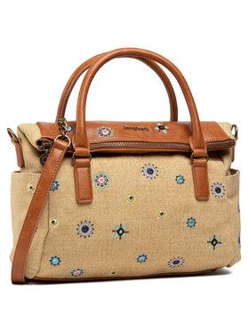 Desigual Desigual Τσάντα 21SAXA41 Μπεζ