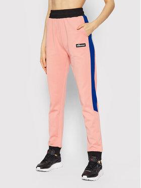 Ellesse Ellesse Spodnie dresowe Parasol SGK12351 Różowy Regular Fit